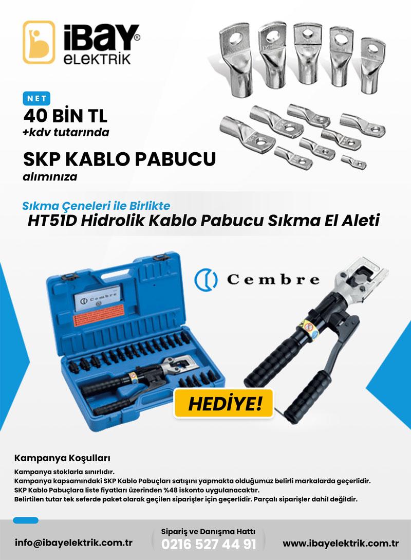 ht51d hidrolik kablo pabucu kampanyası